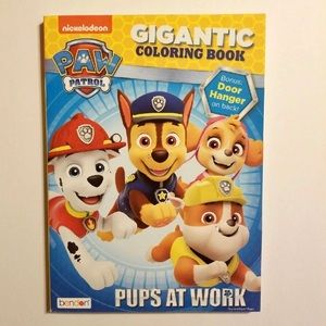 PAW PATROL 96 PAGE COLORING AND ACTIVITY BOOK